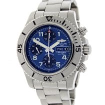 Breitling Superocean Chronograph Steelfish Steel 44mm Blue No numerals