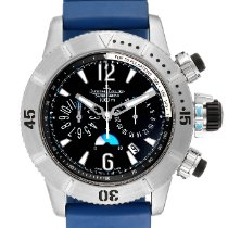 Jaeger-LeCoultre Master Compressor Diving Chronograph Steel 44mm Black Arabic numerals United States of America, Georgia, Atlanta
