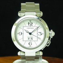 Cartier Pasha C 2475 Very good Steel 35.3mm Automatic
