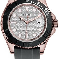 Rolex 126655 Pave Diamond Rose gold 2021 Yacht-Master 40 40mm new United States of America, New York, Airmont