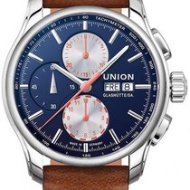 Union Glashütte Viro Chronograph 43mm Blue