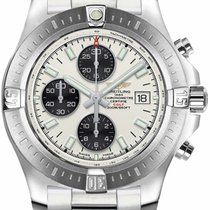 Breitling Colt Chronograph Automatic Steel 44mm Silver United States of America, California, Moorpark