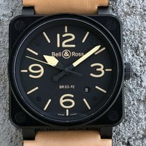 Bell & Ross BR 03 BR03-92-S 2011 pre-owned