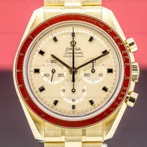 Omega Speedmaster Yellow gold 42mm Gold Arabic numerals