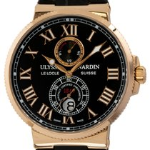 Ulysse Nardin Marine Chronometer 43mm Rose gold 43mm Black Roman numerals United States of America, Texas, Austin
