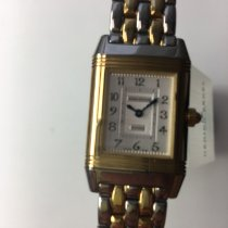 Jaeger-LeCoultre Reverso Duetto Gold/Stahl 33mm Silber