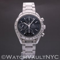 Omega Speedmaster Date Steel 39mm Black United States of America, New York, White Plains