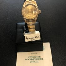 Rolex Lady-Datejust Geelgoud 26mm Goud Geen cijfers