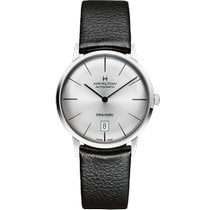 Hamilton Intra-Matic Steel 38mm Silver No numerals United States of America, Massachusetts, Florence