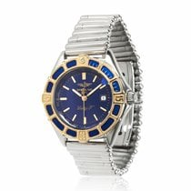 Breitling Lady J Gold/Steel 30mm Blue