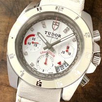 Tudor Grantour Chrono Steel 40mm White