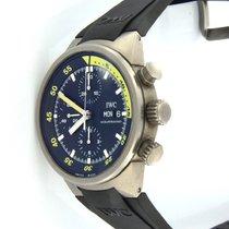IWC Aquatimer Chronograph Titanio 42mm Negro Sin cifras