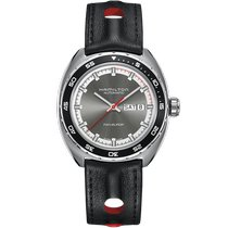Hamilton Pan Europ Steel 42mm Grey No numerals United States of America, Massachusetts, Florence