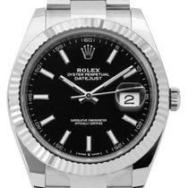 Rolex Datejust Steel 41mm Black No numerals United Kingdom, London