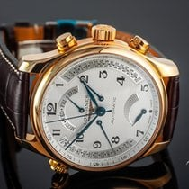 Longines Rose gold Automatic White Arabic numerals 44mm new Master Collection