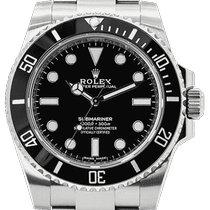 Rolex Submariner (No Date) Stahl 40mm Schwarz