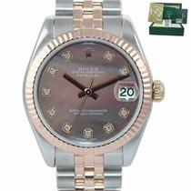 Rolex Lady-Datejust Acero y oro 31mm Madreperla
