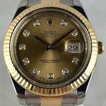 Rolex Datejust II Acero y oro 41mm Oro