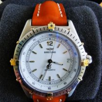 Breitling Antares Gold/Steel White No numerals