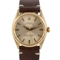 Rolex Or jaune Oyster Perpetual 34 34mm occasion