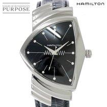 Hamilton Ventura Steel 35mm Black