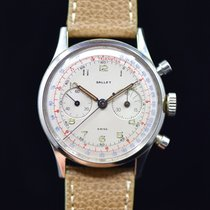 Gallet Steel 37.5mm Manual winding pre-owned United States of America, Connecticut, Stamford