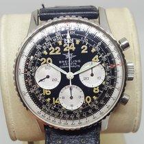 Breitling Navitimer Cosmonaute Stahl 41mm Schwarz Arabisch