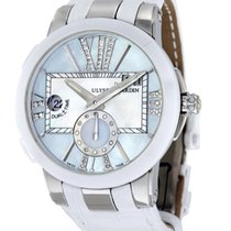 Ulysse Nardin Executive Dual Time Lady Steel 40mm Mother of pearl No numerals
