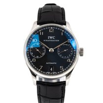 IWC Portuguese Automatic Staal 42mm Zilver Arabisch