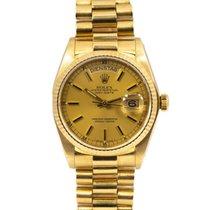 Rolex Day-Date 36 Ouro amarelo 36mm Ouro Sem números
