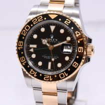 Rolex GMT-Master II 116713LN Very good Gold/Steel Automatic