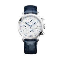 Baume & Mercier nou Cronograf Limba din otel albastrit