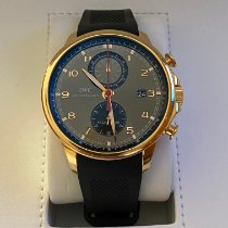 IWC Portuguese Yacht Club Chronograph Rose gold 45.4mm Grey Arabic numerals Canada, ottawa