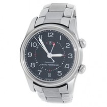 Girard Perregaux Traveller Steel 38mm Black United States of America, New York, New York