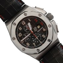 Audemars Piguet Royal Oak Offshore Chronograph Acciaio 48mm Nero Arabi Italia, Rimini