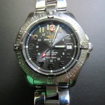 Breitling Colt GMT Steel 40.5mm Black Arabic numerals United States of America, Wisconsin, STEVENS POINT