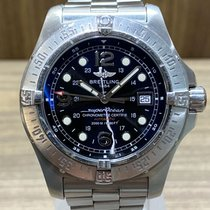 Breitling Superocean Steelfish Steel 44mm Black Arabic numerals