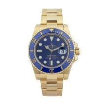 Rolex Submariner Date Yellow gold 40mm Blue No numerals United States of America, Georgia, ATLANTA
