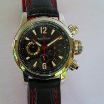 Jaeger-LeCoultre Master Compressor Chronograph 2 Acero Negro Arábigos