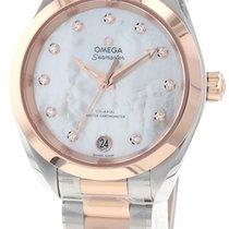 Omega Or/Acier 34mm Remontage automatique 220.20.34.20.55.001 nouveau