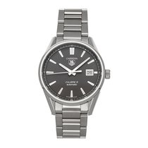 TAG Heuer Carrera Calibre 5 Steel 39mm Grey No numerals United States of America, Pennsylvania, Bala Cynwyd