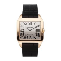 Cartier Santos Dumont Rose gold 44.6mm Silver Roman numerals United States of America, Pennsylvania, Bala Cynwyd