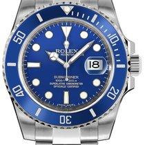 Rolex Submariner Date White gold 40mm Blue No numerals Australia, Parramatta