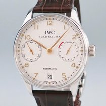 IWC Portuguese Automatic Steel 42mm White