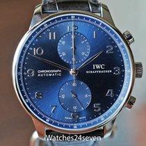IWC Portuguese Chronograph 20mm Azul Arábigos