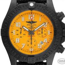 Breitling Kunststoff Automatik Orange Arabisch 45mm neu Avenger Hurricane
