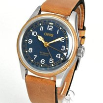 Oris Big Crown Pointer Date 40mm Blau Deutschland, Teuschnitz