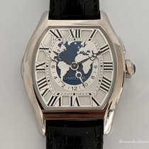 Cartier Tortue Or blanc 25.6mm Blanc Romains