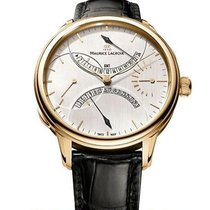 Maurice Lacroix new Manual winding Small seconds Power Reserve Display 46mm Rose gold Sapphire crystal