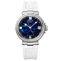 Breguet Marine Steel 33.8mm Blue